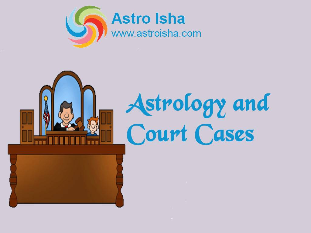 Astrology and Court Cases