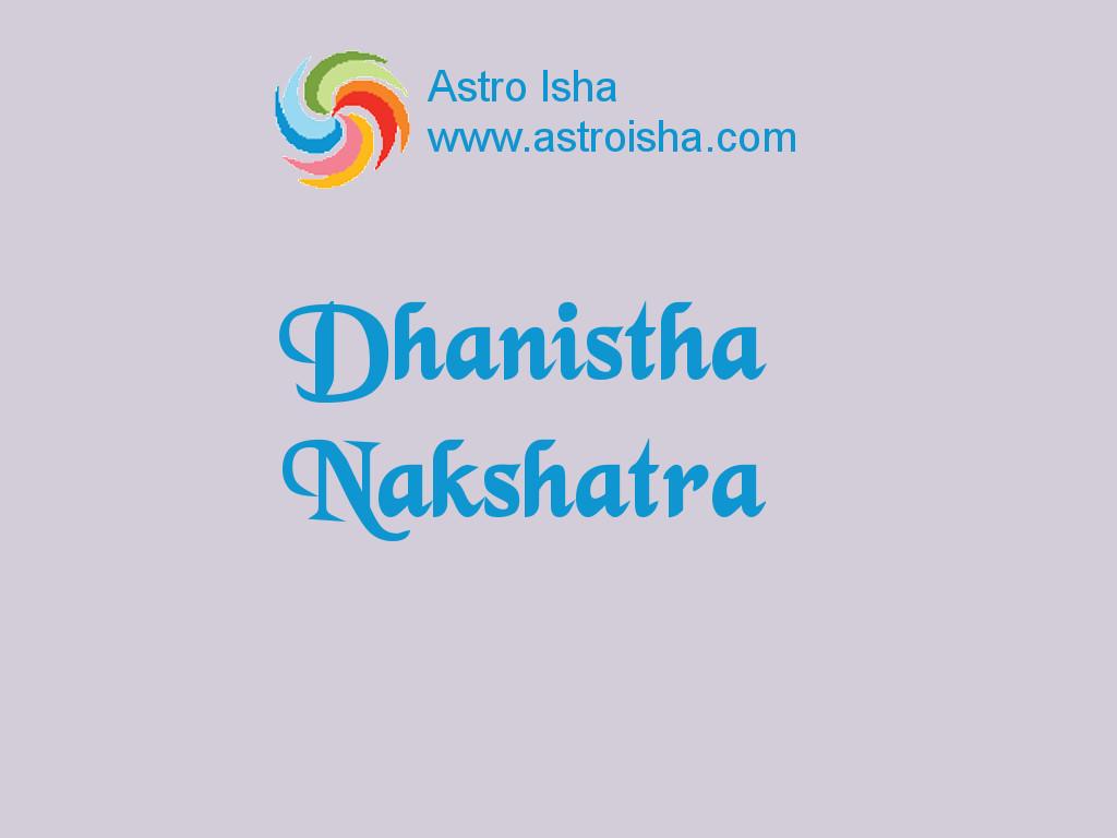Dhanistha Nakshatra