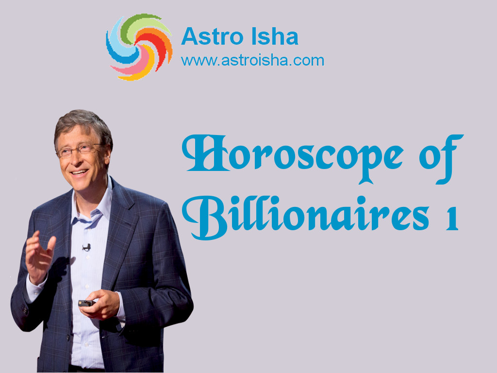 Horoscope of Bill Gates