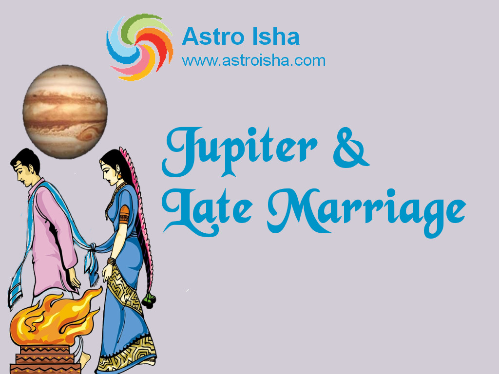 Jupiter & Late Marriage