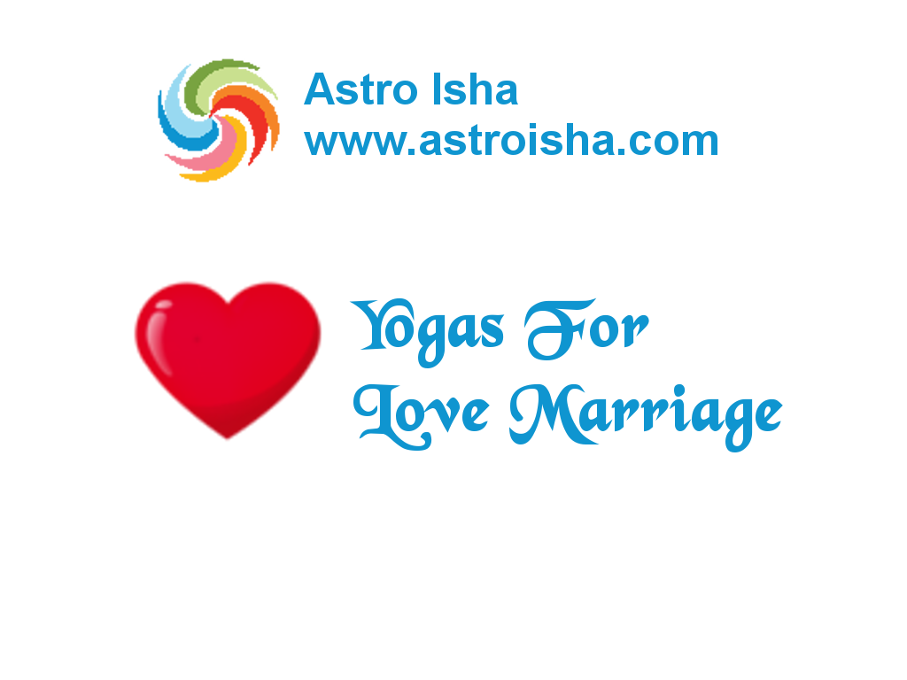 Yogas For Love Marriage