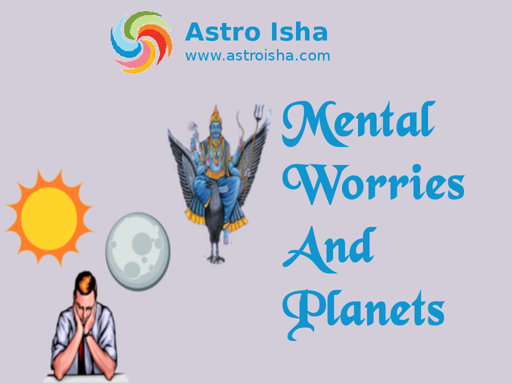 Mental Worries and Planets