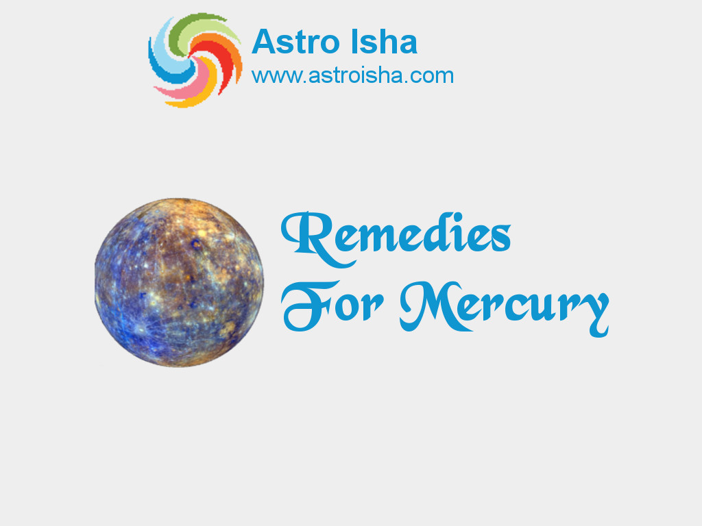 Remedies For Mercury