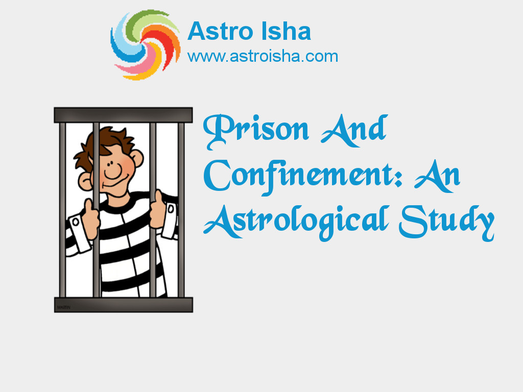 Prison and Confinement: An Astrological Study