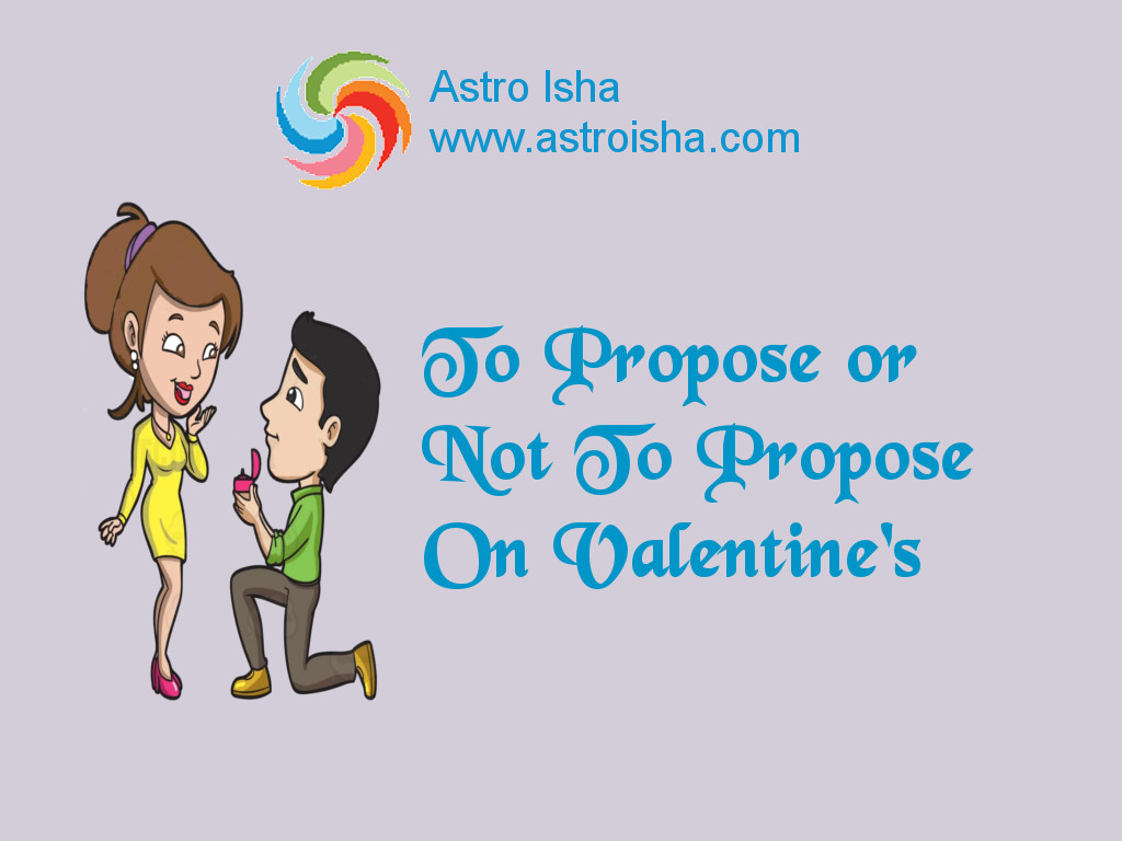 Propose on Valentine's or Not?