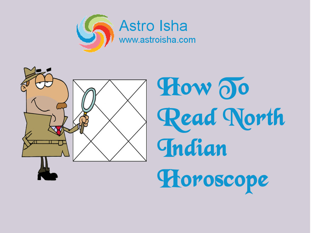 How To Read North Indian Horoscope