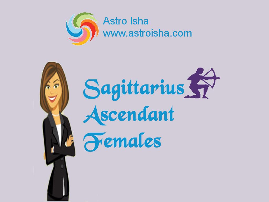 Sagittarius Ascendant Females