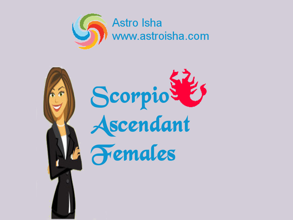 Scorpio Ascendant, rising sign or Vrischika Lagna