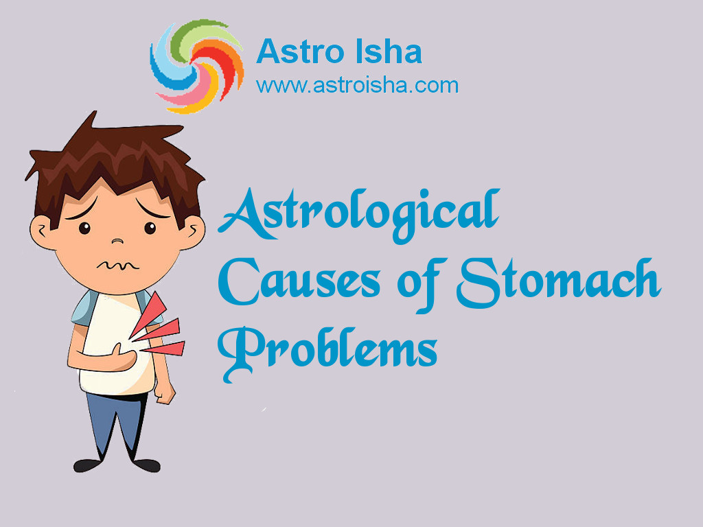 Astrological Causes of Stomach Problems