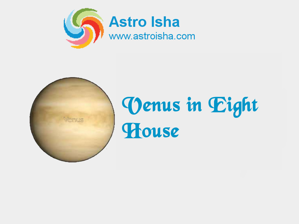 Venus in Eight House