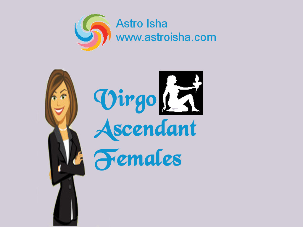 Virgo Ascendant Females